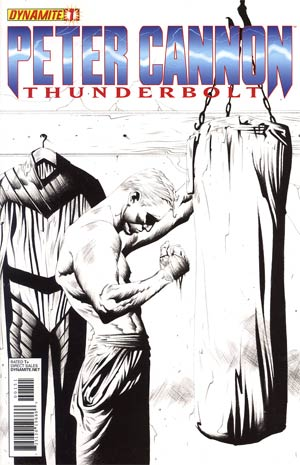 Peter Cannon Thunderbolt Vol 2 #1 Incentive Jae Lee Black & White Cover