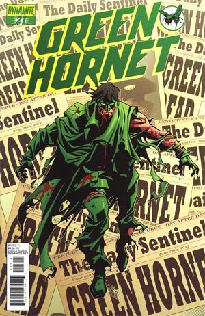 Kevin Smiths Green Hornet #27 Cover A Phil Hester Cover