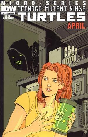 Teenage Mutant Ninja Turtles Micro-Series #7 Cover B April Marley Zarcone