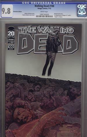 Walking Dead #100 Chromium Edition CGC 9.8