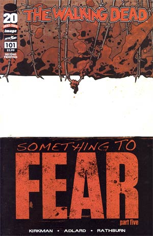 Walking Dead #101 2nd Ptg