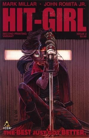 Hit-Girl #2 Cover D 2nd Ptg John Romita Jr Variant Cover