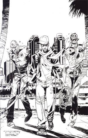Fanboys vs Zombies #6 Incentive Khary Randolph Virgin Sketch Cover