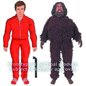 Six Million Dollar Man Bigfoot Action Figure