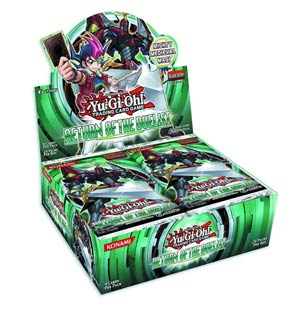 Yu-Gi-Oh Return Of The Duelist Booster Display