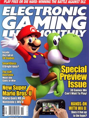 Electronic Gaming Monthly #256 Sep / Oct 2012