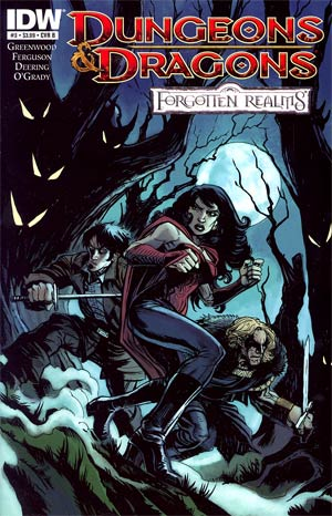 Dungeons & Dragons Forgotten Realms #3 Cover B Steve Ellis