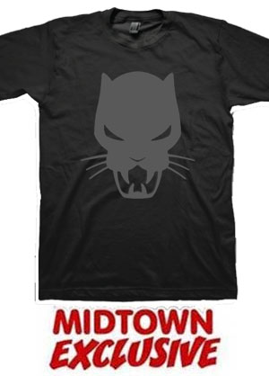 Black Panther Icon Midtown Exclusive T-Shirt Large