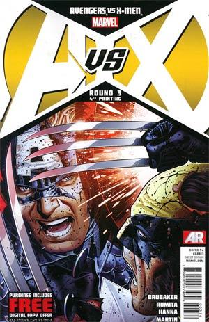 Avengers vs X-Men #3 Cover I 4th Ptg Jim Cheung Variant Cover