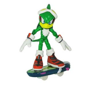 Sonic Free Riders 3-Inch Action Figure - Jet