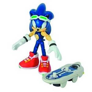 Sonic Free Riders 3-Inch Action Figure - Sonic