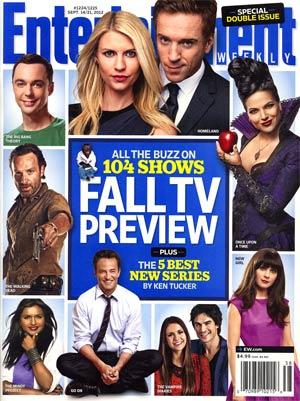 Entertainment Weekly #1224 / #1225 Sep 14 / Sep 21 2012