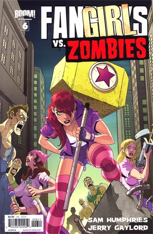 Fanboys vs Zombies #6 Regular Cover B Eddie Nunez