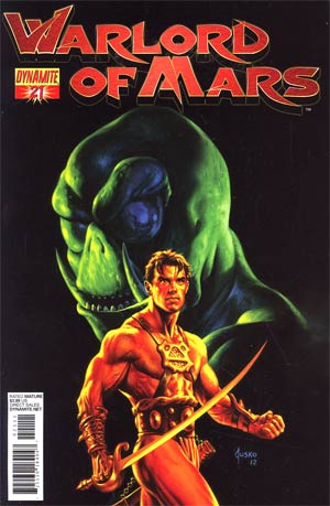 Warlord Of Mars #21 Regular Joe Jusko Cover