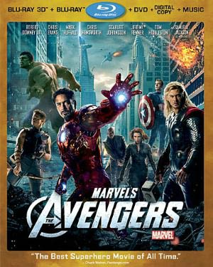 Marvels The Avengers Blu-ray Combo 3D DVD