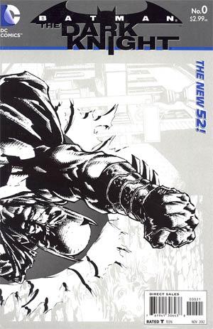 Batman The Dark Knight Vol 2 #0 Cover B Incentive David Finch Sketch Cover