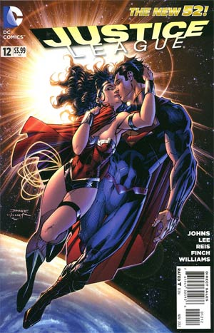 Justice League Vol 2 #12 2nd Ptg