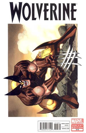 Wolverine Vol 4 #313 Incentive Art Adams Variant Cover