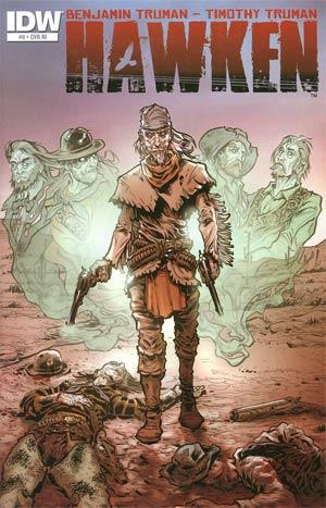 Hawken #6 Incentive Dominic Vivona Wraparound Variant Cover