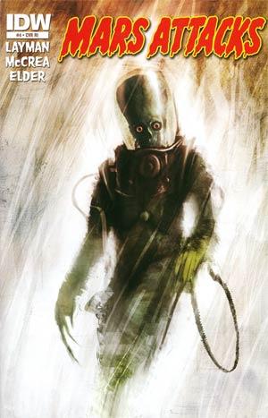 Mars Attacks Vol 3 #4 Incentive Menton3 Variant Cover
