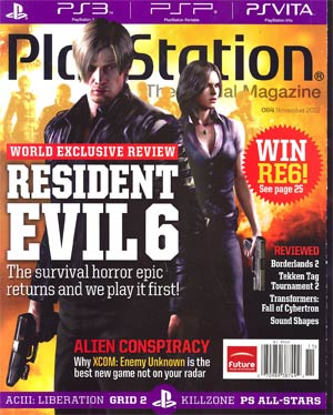 Playstation The Official Magazine #64 Nov 2012