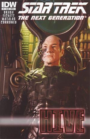 Star Trek The Next Generation Hive #1 Regular Cover B Photo