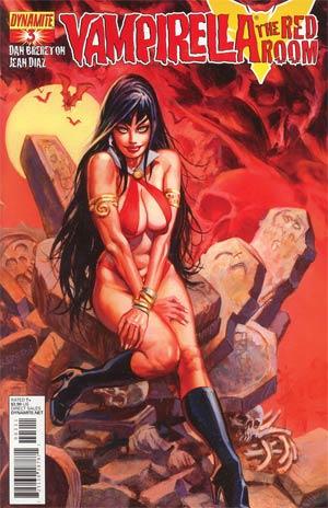 Vampirella Red Room #3 Dan Brereton Cover