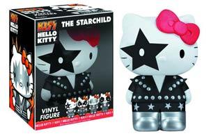 Hello Kitty KISS Starchild Vinyl Figure