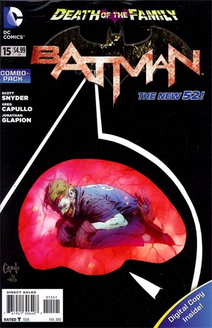 Batman Vol 2 #15 Cover C Combo Pack With Polybag (Death Of The Family Tie-In)