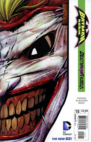 Batman And Robin Vol 2 #15 (Death Of The Family Tie-In)
