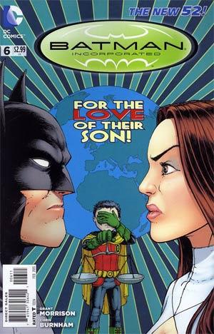 Batman Incorporated Vol 2 #6 Regular Chris Burnham Cover