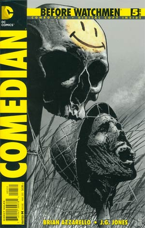 Before Watchmen Comedian #5 Combo Pack With Polybag