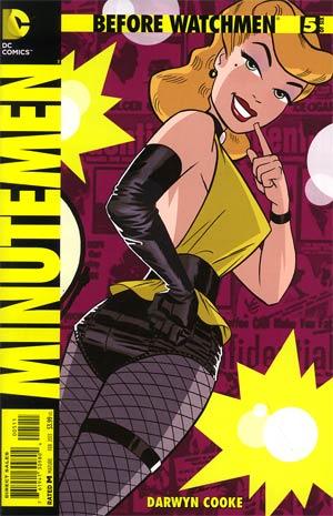 Before Watchmen Minutemen #5 Regular Darwyn Cooke Cover