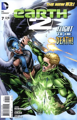 Earth 2 #7 Regular Ivan Reis Cover