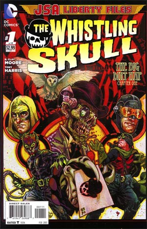 JSA The Liberty Files The Whistling Skull #1 Regular Tony Harris Cover