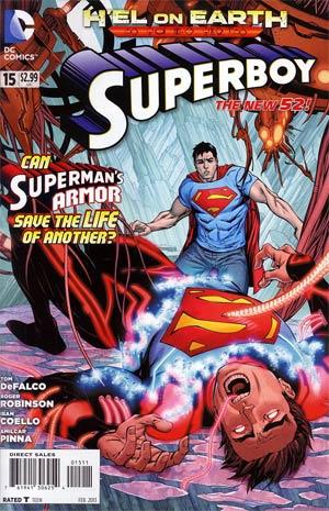 Superboy Vol 5 #15 (Hel On Earth Part 5)
