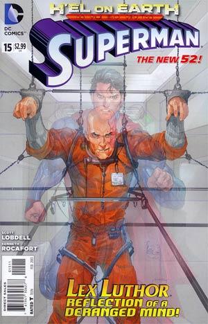 Superman Vol 4 #15 Regular Kenneth Rocafort Cover (Hel On Earth Part 7)