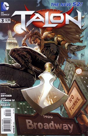 Talon #3 Cover A Regular Guillem March Cover