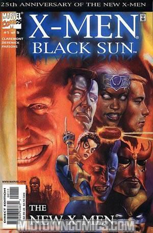 X-Men Black Sun #1 Cover A The New X-Men
