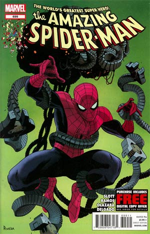 Amazing Spider-Man Vol 2 #699 Cover A 1st Ptg