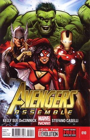 Avengers Assemble #10 Regular Greg Land Cover