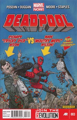 Deadpool Vol 4 #3 1st Ptg Regular Geof Darrow Cover