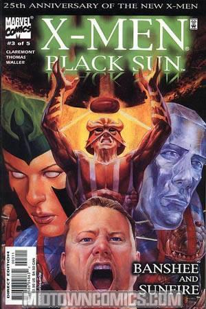 X-Men Black Sun #3 Banshee & Sunfire