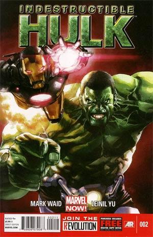 Indestructible Hulk #2 1st Ptg Regular Leinil Francis Yu Cover