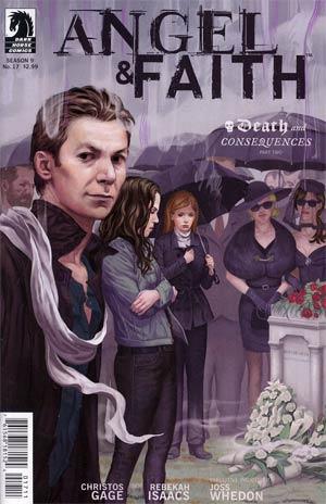 Angel And Faith #17 Cover A Regular Steve Morris Cover