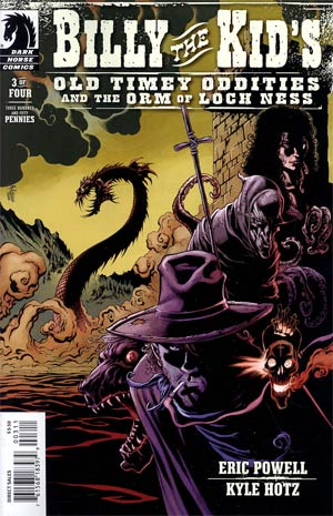 Billy The Kids Old Timey Oddities And The Orm Of Loch Ness #3
