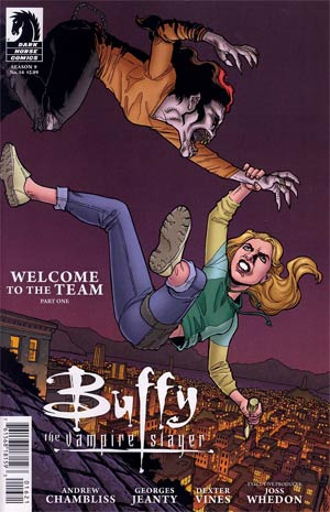 Buffy The Vampire Slayer Season 9 #16 Variant Georges Jeanty Cover