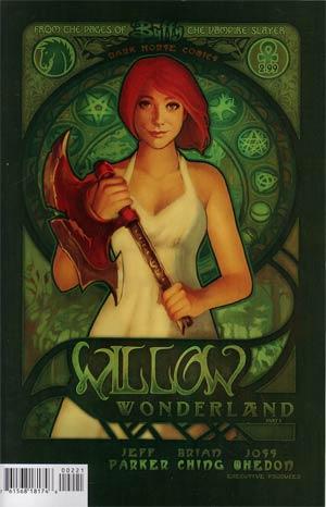 Buffy The Vampire Slayer Willow Wonderland #2 Variant Megan Lara Cover