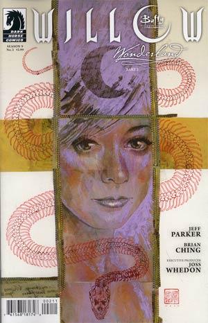 Buffy The Vampire Slayer Willow Wonderland #2 Regular David Mack Cover