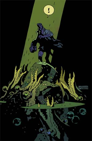 Hellboy In Hell #1 1st Ptg Regular Mike Mignola Cover